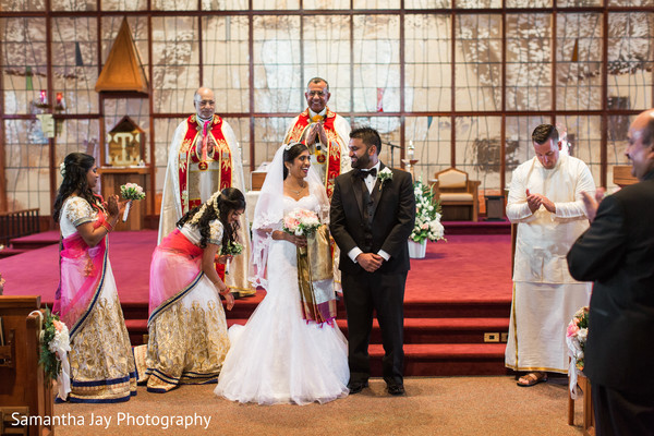 indian church wedding,indian catholic wedding,indian fusion wedding,fusion indian wedding