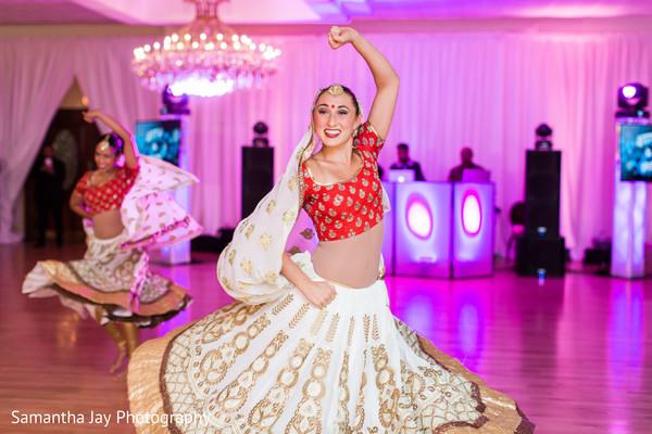 Indian Wedding Reception Performance
