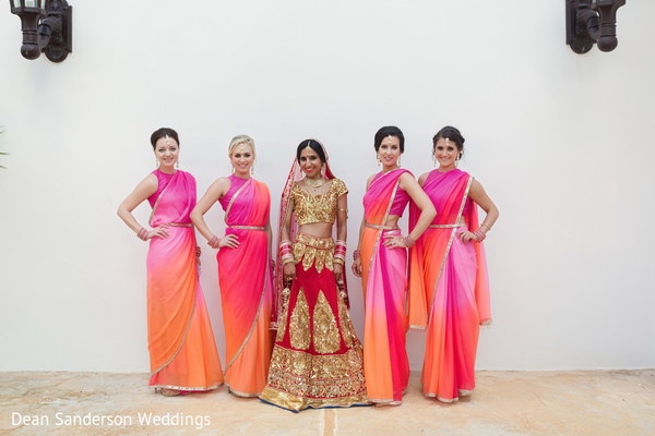 indian bridesmaids,indian bridesmaids' fashion,indian bridal lengha