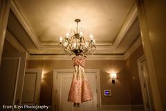 Indian bridal lengha.