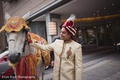 Indian wedding baraat,