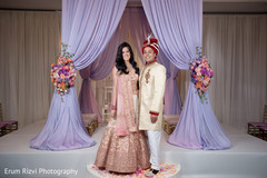 Dazzling indian couple.