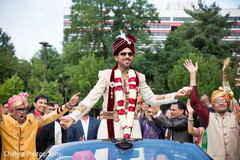 Indian Groom Baraat Ceremony
