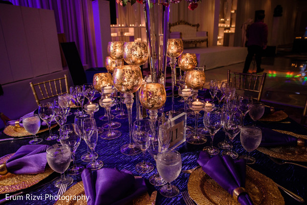 Luxury table centerpieces.