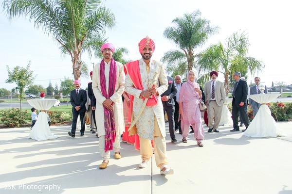Baraat for Sikh bridegroom