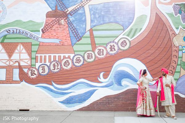 Punjab couple photo shoot in Sacramento, CA, Sikh Wedding by JSK Photography