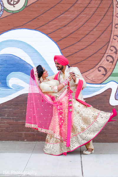Punjabi couple outdoor photography