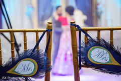 seat decor for indian wedding,seat decor for sikh wedding,bride and groom seats,fringed decor,signs,indian weddings,indian wedding signs,wedding signage