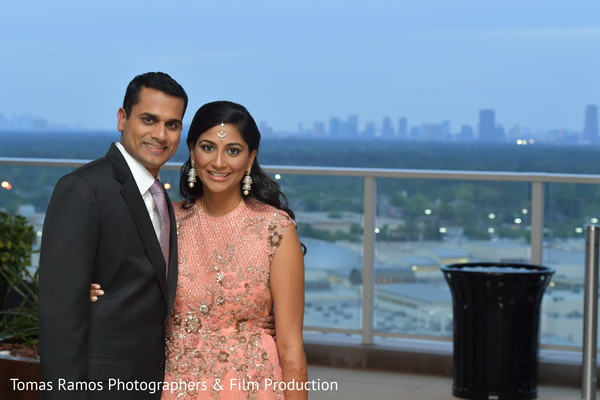 South Indian couple portrait