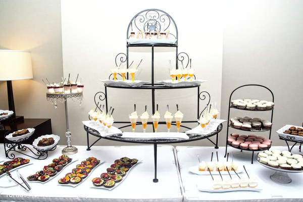 Dessert table at Indian reception