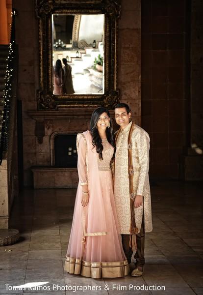 Indian pre-wedding portrait