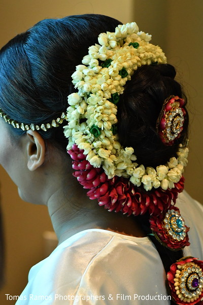 South Indian bridal braid