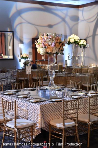 Reception tablescapes decor