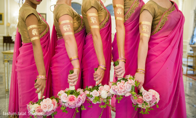 indian bridesmaids,bridesmaids fashions,indian bridal fashions,indian bridal party