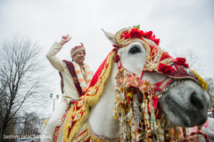 Indian Bridegroom on Horse