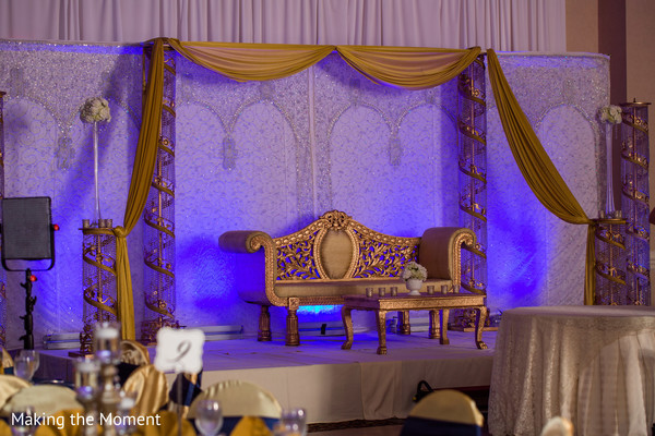 indian wedding planning and design,reception stage