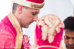 indian groom,american groom