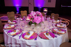 Tablescapes for fusion reception
