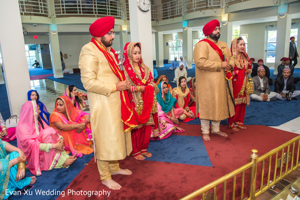 gurdwara wedding,double gurdwara wedding,double sikh wedding,indian weddings