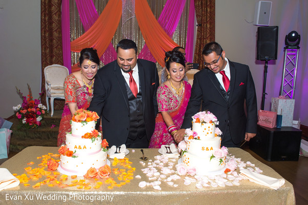 reception d?cor,floral and d?cor,indian wedding decorations,indian reception decorations,double reception decorations