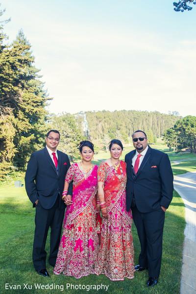 indian wedding reception,indian wedding portrait