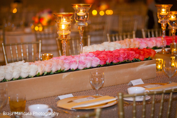 floral centerpieces,indian wedding reception,indian wedding photography