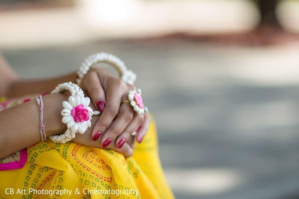 Floral hath phool jewelry