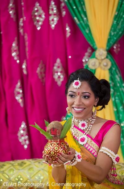 Traditional Gujarati bride