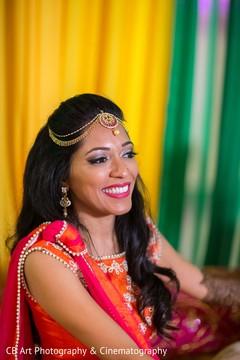 red and orange sari,mehndi fashion,indian wedding mehndi party,mehndi bridal jewelry,indian bridal mehndi,indian bridal henna,indian wedding henna,indian wedding mehndi,mehendi,mehndi on feet
