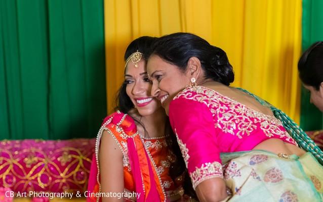 bridal mehndi party portrait