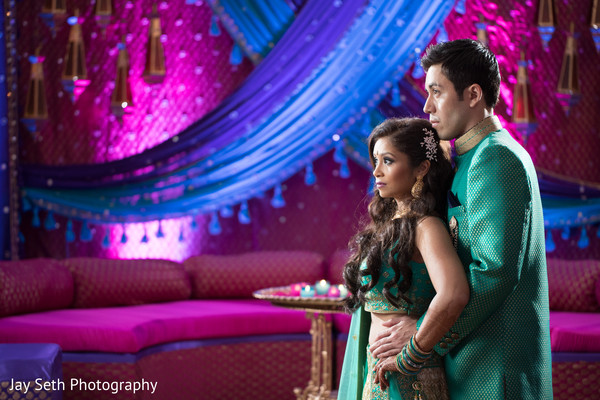 indian bridal hair and makeup,groom sangeet fashion