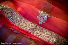 Indian bridal lengha detail.