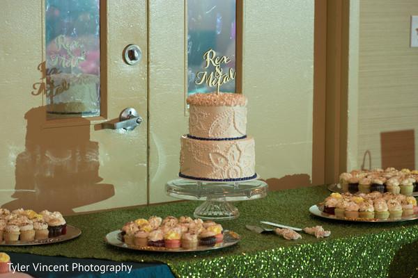 Beautiful indian wedding cake.
