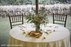Enchanting sweetheart table.