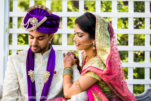 indian bride ceremony fashion,indian groom fashion,turban.