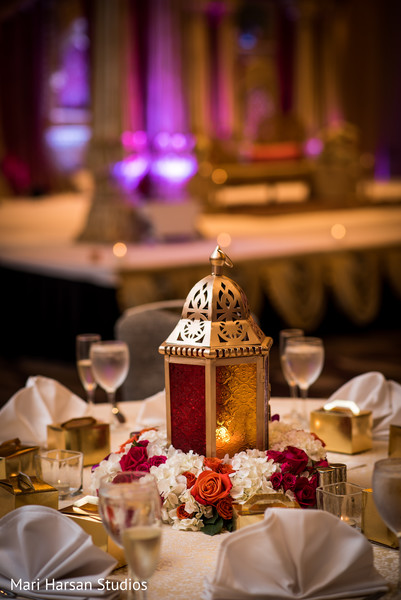 red roses centerpieces,indian wedding floral and decor