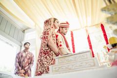 Flawless indian wedding ceremony.