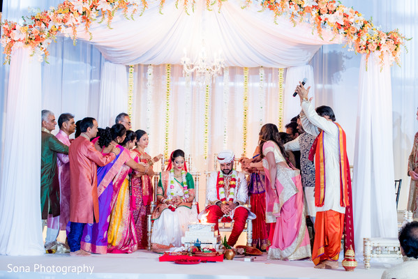 Indian wedding ceremony photography.