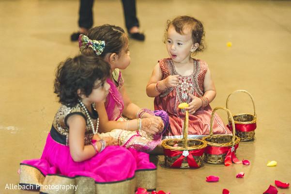 Lovely flower girls