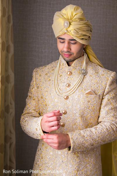 335644dddf Fabulous indian groom in soft yellow wedding sherwani and turban. | Photo  87734