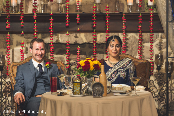 wedding table,couple's table,indian wedding reception