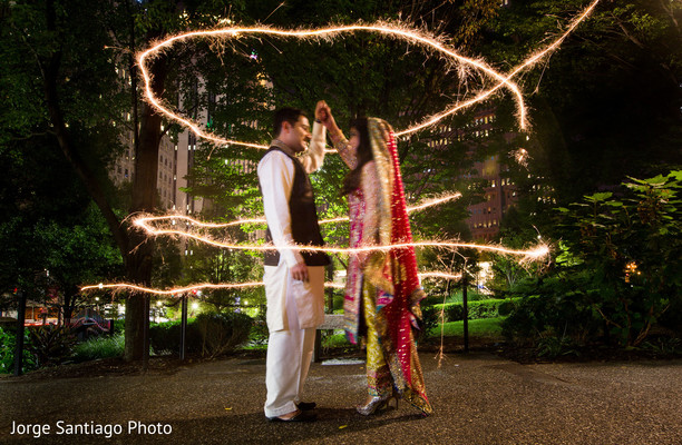 indian bride,indian bride and groom,outdoor portrait of bride and groom