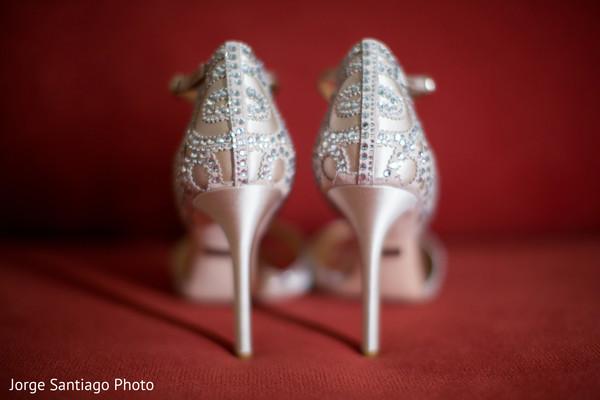 Silver Indian Bridal Footwear