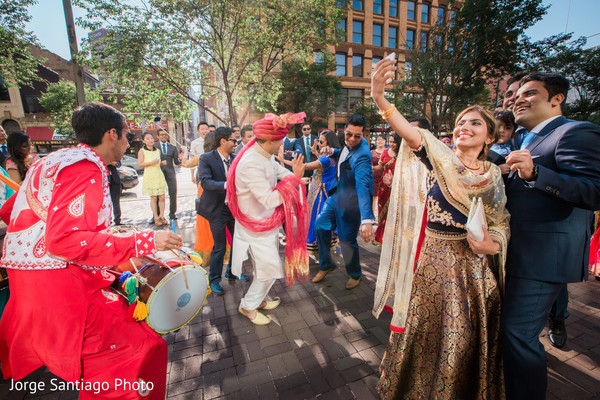 Indian Baraat Ceremony