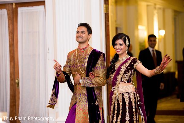 wedding entrance,indian bridal fashions