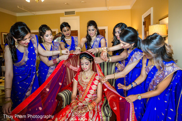 dupatta,indian bridesmaids,bridal veil