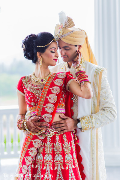 Lovely Indian Couple In Bretton Woods NH Wedding By Thuy Pham Photography