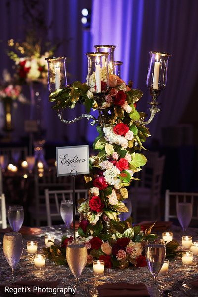 centerpieces,outdoor indian wedding decor