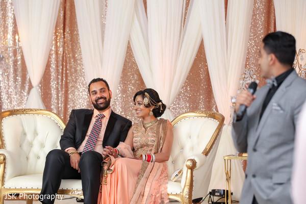 indian wedding reception,speech