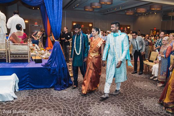 indian wedding ceremony,wedding entrance